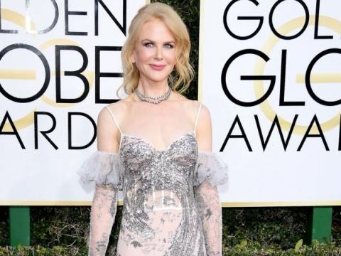 銀色高貴版:Nicole Kidman