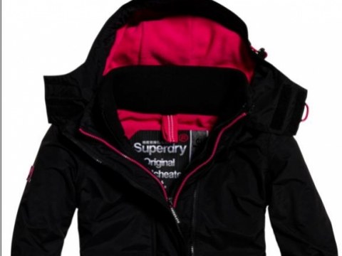Pop Zip Hood Arctic Windcheater HK$1,280 (Superdry)