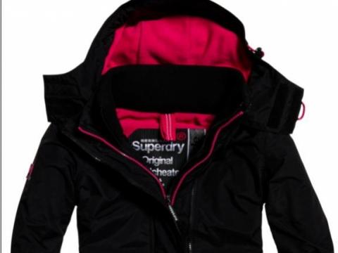Pop Zip Hood Arctic Windcheater HK$1,280 (Superdry)