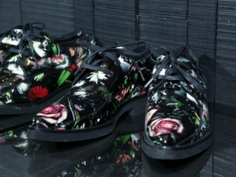 MCQ black flats $1,920 (Original Price: $4,799)