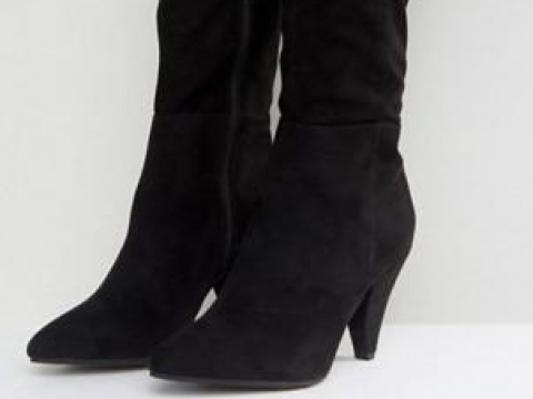Over The Knee Ruched Boot HK$793 (Miss Selfridge)