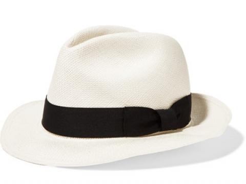 Classic toquilla straw Panama hat HK$940 (SENSI STUDIO)