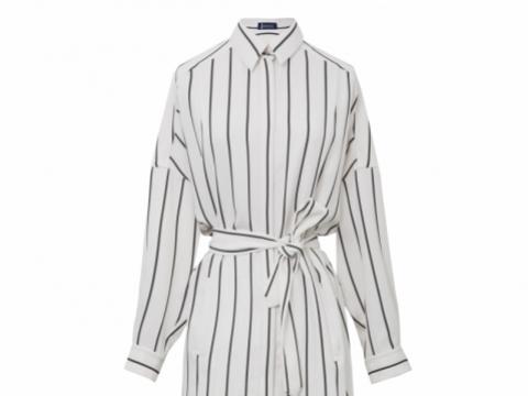 Atsuro Tayama Impression Collection stripe shirt dress $4,995