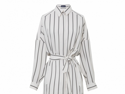 Atsuro Tayama Impression Collection stripe shirt dress $4,995