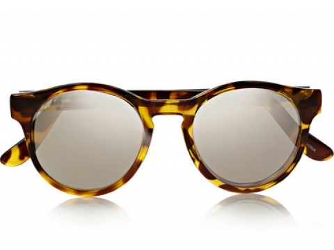 Hey Macarena round-frame acetate sunglasses HK$399 (LE SPECS)