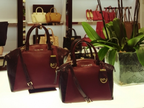 MMK Riley collaged leather bag (大$4,400)(小$3,800)