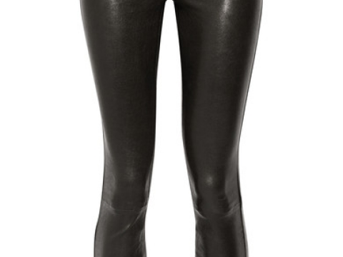 8001 leather skinny pants HK$8,210 (J BRAND)