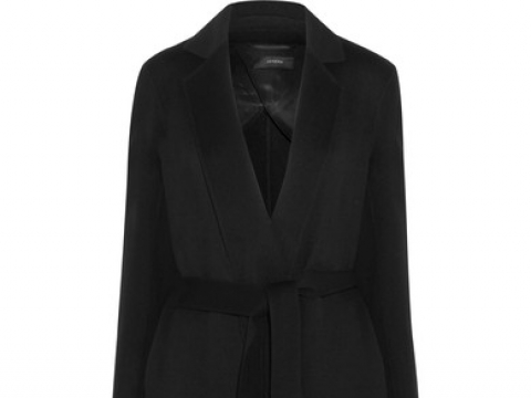 Kido wool and cashmere-blend coat HK$6,495 (JOSEPH)