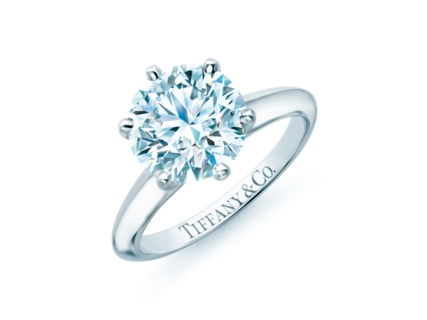 The Tiffany Setting diamond engagement ring (5.13ct) $6,722,000