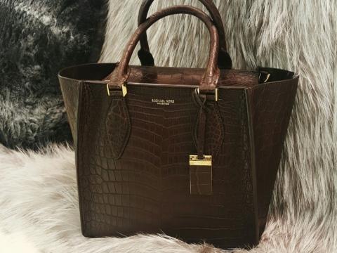 Michael Kors Collection croco leather bag $70,200