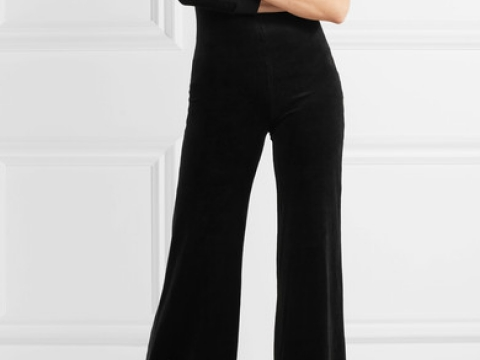 Vetements x Juicy Couture one-shoulder cotton-blend velour jumpsuit $16,250 ( Net-A-Porter)