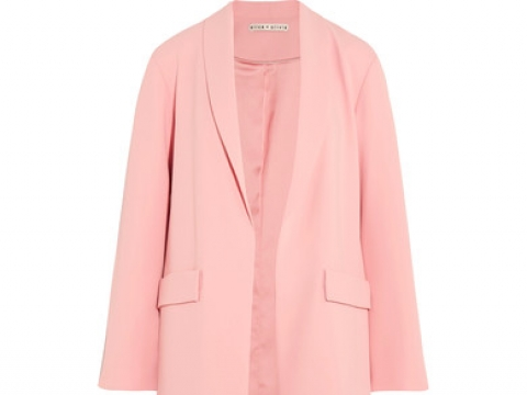 Angela crepe coat HK$4,270 (ALICE + OLIVIA)