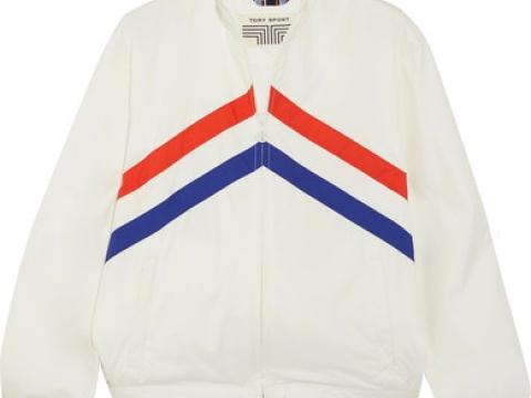 Taffeta jacket HK$1,650 (TORY SPORT)