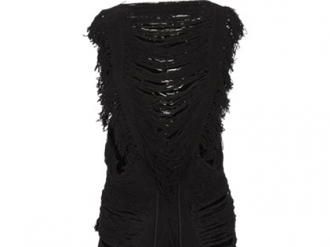 Dzalbay fringed cotton dress HK$2,160 (CARAVANA)