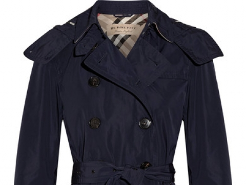 Balmoral Packaway hooded shell trench coat HK$4,561 (BURBERRY)
