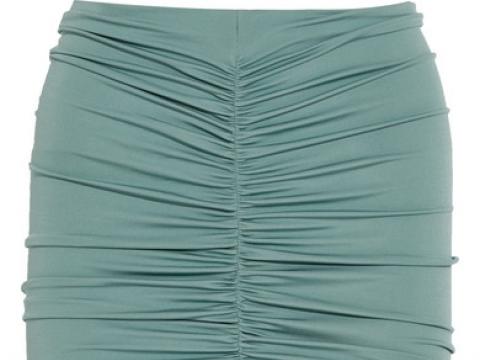Caliga ruched stretch-jersey skirt HK$2,307 (MAX MARA)