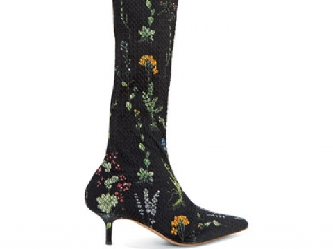 Elliot floral-print matelassé over-the-knee boots HK$11,526 (ALTUZARRA)