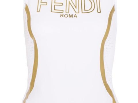 Roma perforated metallic-coated stretch tank HK$2,900 (FENDI)