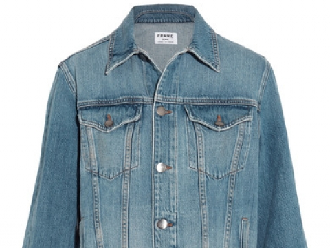 Le Jacket oversized denim jacket HK$2,695 (FRAME)