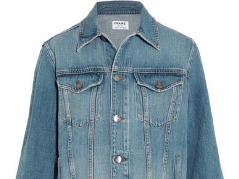 Le Jacket oversized denim jacket HK$2,695 (FRAME)