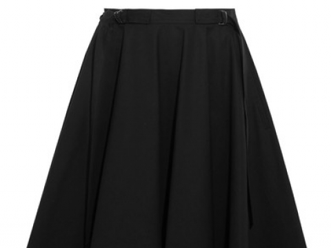 Stretch-cotton poplin midi skirt HK$7,500 (BOTTEGA VENETA)