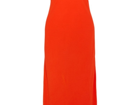 Tulip crepe maxi dress HK$3,025 (RAQUEL ALLEGRA)