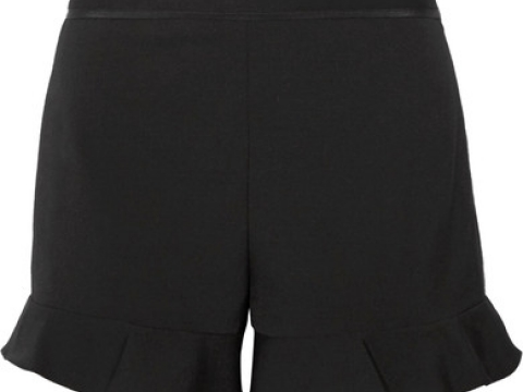 Ruffled cady shorts HK$1,785 (REDVALENTINO)