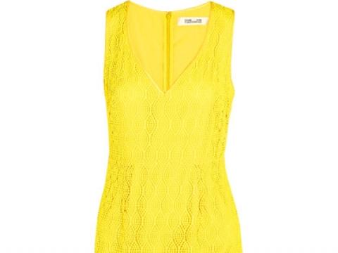 Crocheted lace dress HK$1,595 (DIANE VON FURSTENBERG)