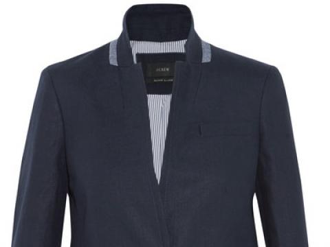 Regent linen blazer HK$1,740 (J.CREW)