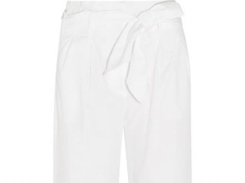 Gramsey cropped cotton-poplin wide-leg pants HK$581(J.CREW)