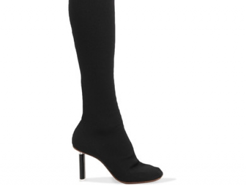 Sock jersey over-the-knee boots HK$10,613 (VETEMENTS)