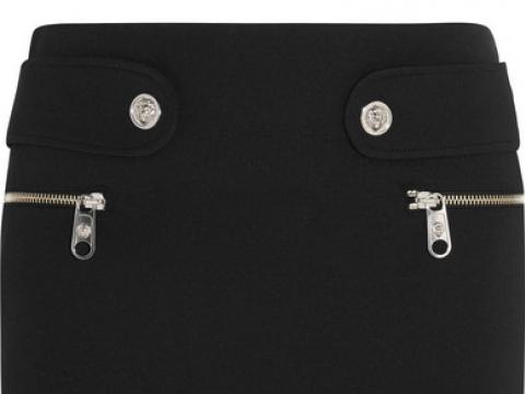Neoprene mini skirt HK$1,380 (VERSUS VERSACE)