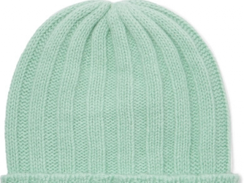 Short Bunny Echo ribbed cashmere beanie HK$1,825 (THE ELDER STATESMAN)
