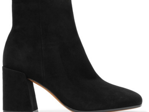 Highbury suede ankle boots HK$2,571(VINCE)