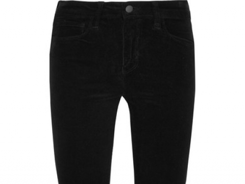 The Margot high-rise corduroy skinny pants HK$1,020 (L'AGENCE)