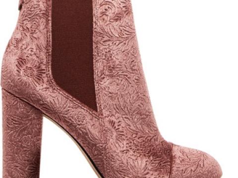 Case embossed velvet ankle boots HK$1,035 (SAM EDELMAN)