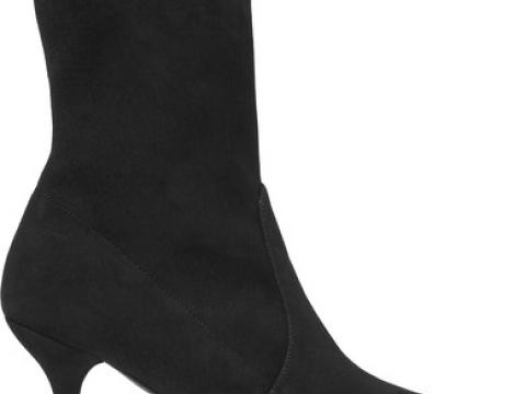 Cling suede sock boots HK$5,120 (STUART WEITZMAN)
