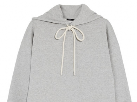 Oversized cotton-jersey hooded top HK$1,535 (BASSIKE)