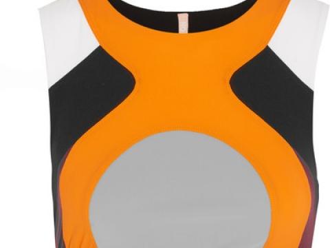 Lani color-block stretch sports bra HK$920 (NO KA'OI)
