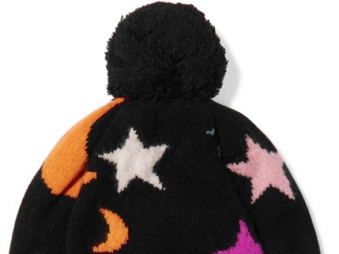 Midnight Sky cashmere beanie HK$1,260 (CHINTI AND PARKER)