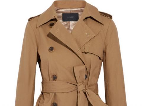 Cotton-canvas trench coat HK$1,513 (J.CREW)