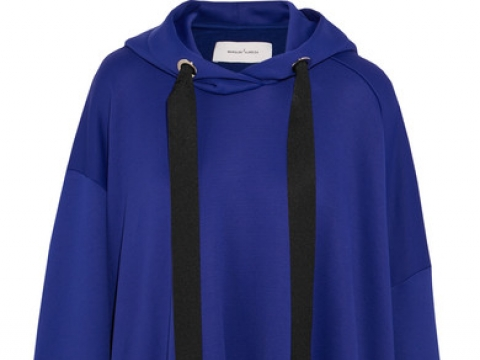 Oversized cotton-blend jersey hooded sweatshirt HK$3,275 (MARQUES' ALMEIDA)