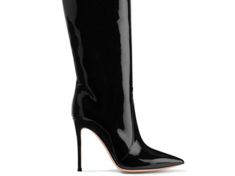 Rennes patent-leather over-the-knee boots HK$9,950 (GIANVITO ROSSI)