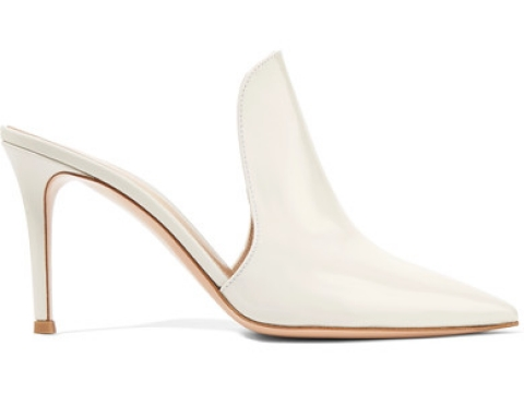 Aramis patent-leather mules HK$4,354(GIANVITO ROSSI)