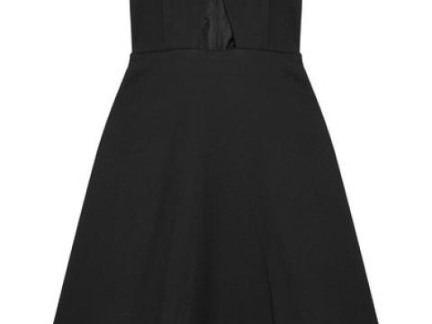 Cutout crepe dress HK$4,395(CARVEN)