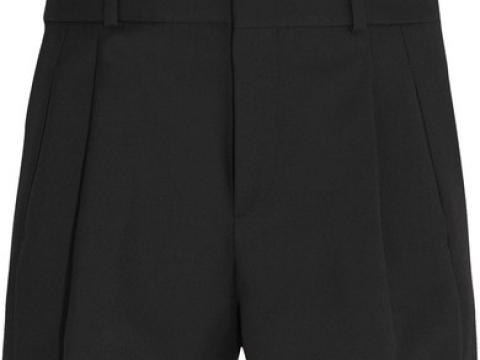Wool-gabardine shorts HK$4,990 (SAINT LAURENT)