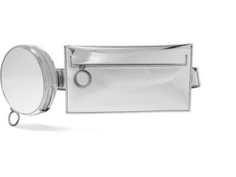 Mirrored-leather belt bagHK$6,302 (OFF-WHITE)