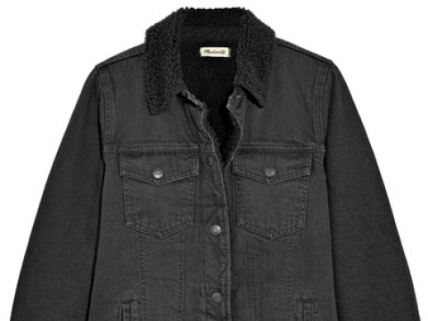Oversized denim jacket HK$1,650 (MADEWELL)