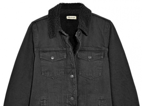 Oversized denim jacket HK$1,650 (MADEWELL)