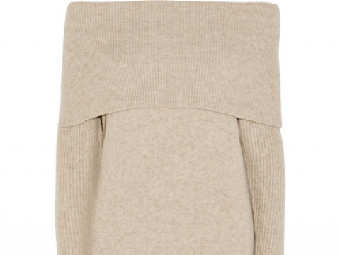 Lana off-the-shoulder knitted midi dress HK$1,110 (J.CREW)